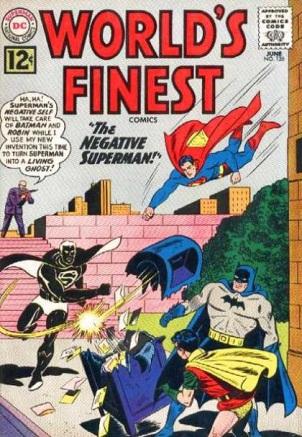 Darkness Mimicry-OS-Superman-World's Finest V1 #126