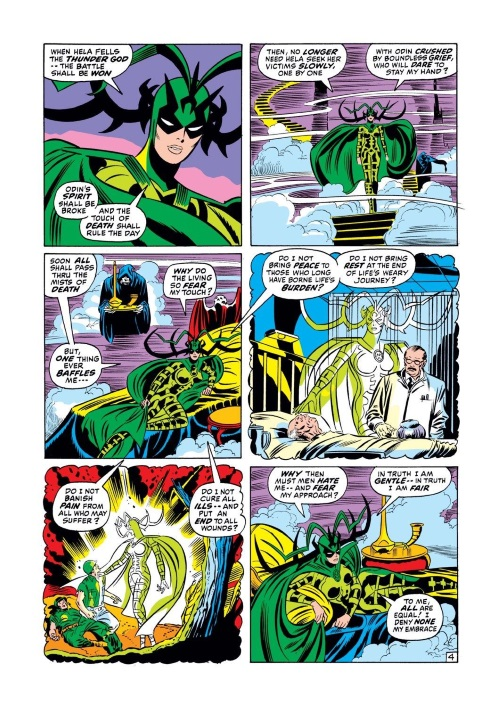 Death Touch-Hela-Thor V1 #189