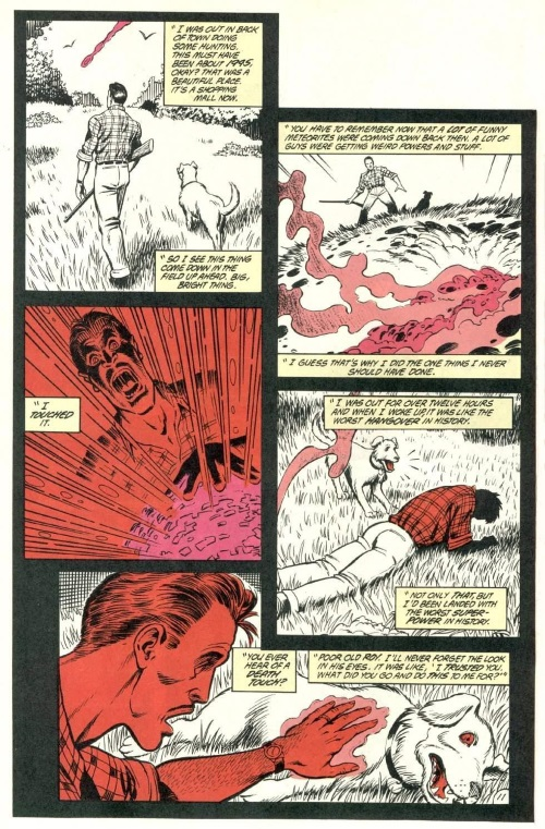 Death Touch-Red Mask-Animal Man V1 #7