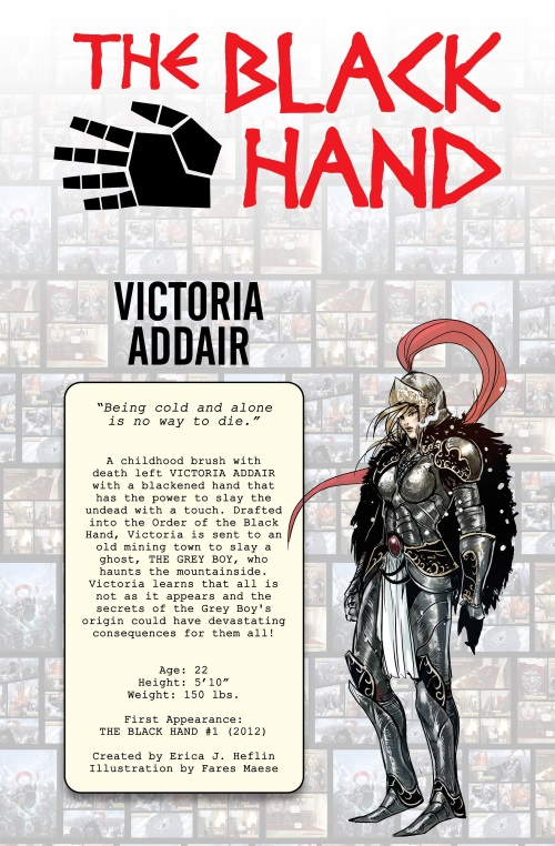 Death Touch-The Black Hand-Alterna AnniverSERIES - Character Guide (2016)