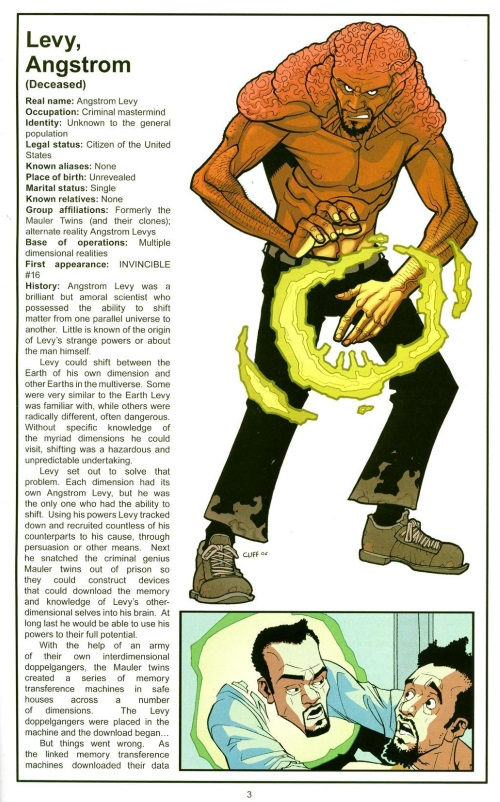 Dimensional Transport (Multiverse)-Angstrom Levy-The Official Handbook of the Invincible Universe #2