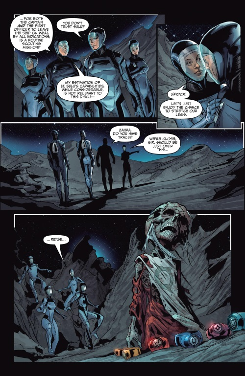 Dimensional Transport (Omniverse)-Star Trek Green Lantern The Spectrum Wars #1 (2015)-9