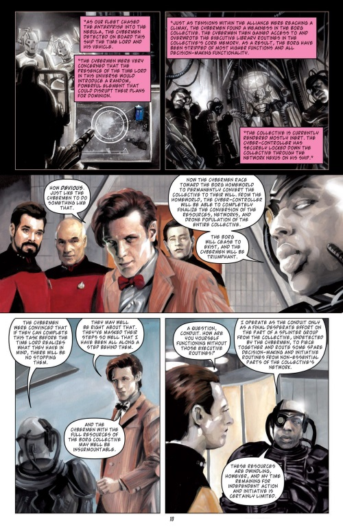 Dimensional Transport (Omniverse)-Star Trek TNG Doctor Who - Assimilation #6 (2012)-12