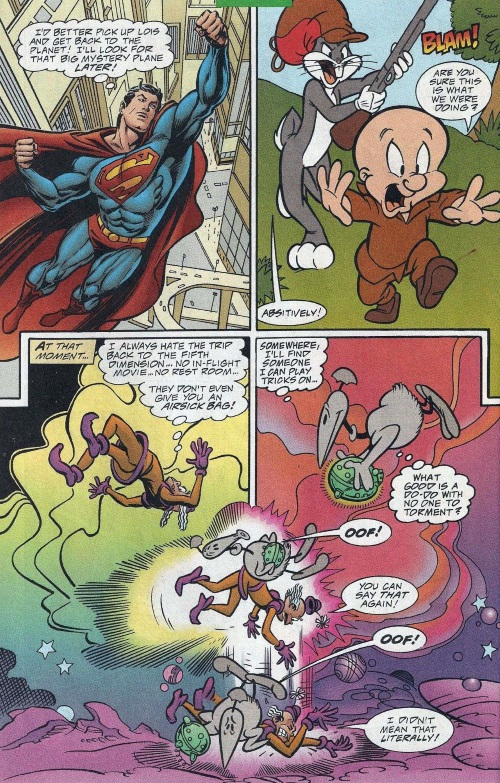 Dimensional Transport (Omniverse)–Superman and Bugs Bunny #1 (DC)-18