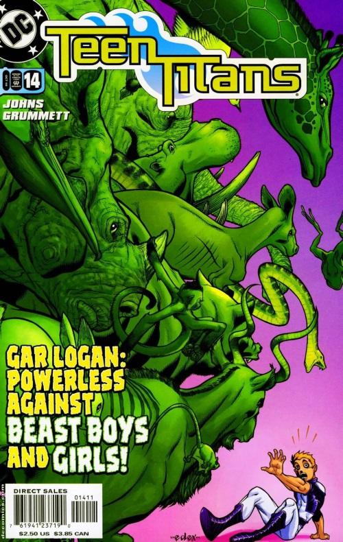 Disease Manipulation–Sakutia-Teen Titans V3 #14