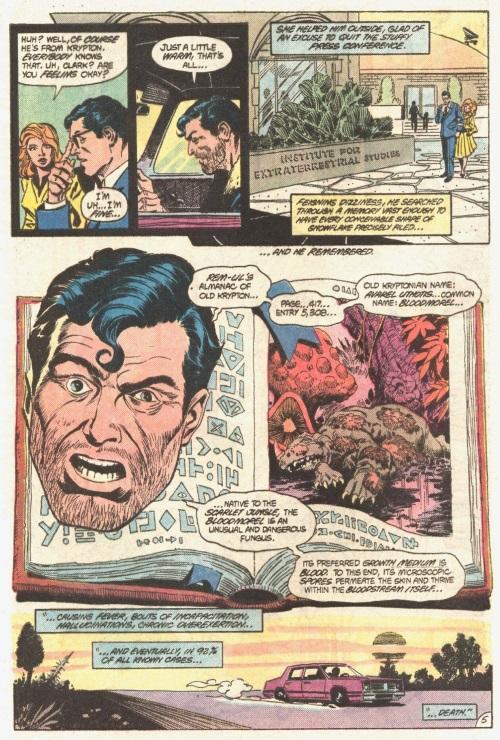 Disease Resistance-Virus X-DC Comics Presents -Superman Swamp Thing #85-6