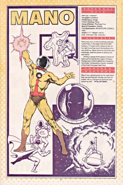 Disintegration-Mano-DC Who's Who #14