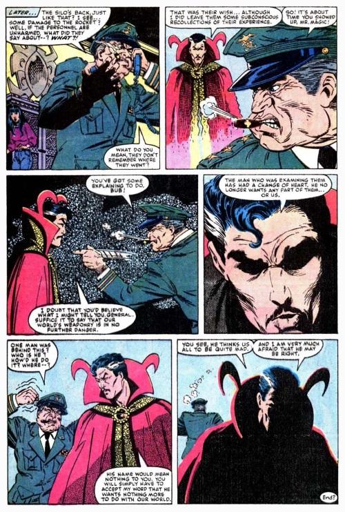 Doctor Strange V1 #70-23
