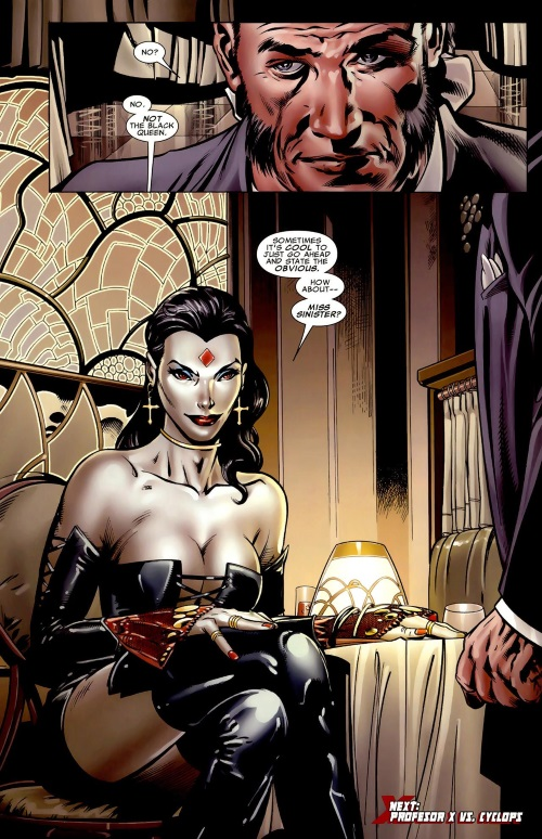 Duplication (gender)–Miss Sinister-X-Men Legacy #214 (2008) - Page 24