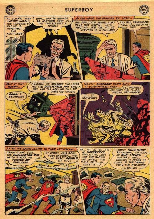 Duplication (imperfect)–Bizarro-Superboy V1 #68