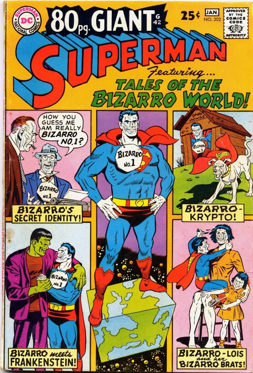 Duplication (imperfect)–Bizarro World-Superman V1 #202