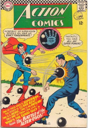 Duplication (other)-Superman-Action Comics V1 #341
