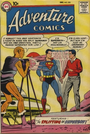 Duplication (other)-Superman-Adventure Comics V1 #255