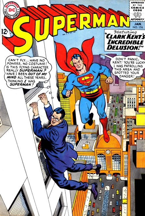 Duplication (other)-Superman V1 #174