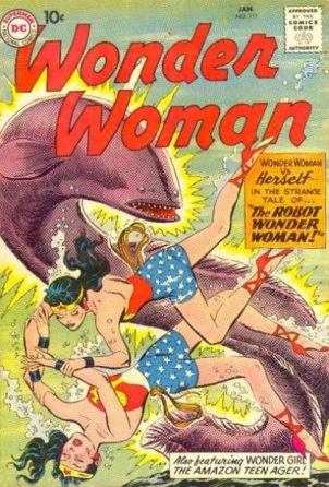 Duplication (other)-Wonder Woman V1 #111