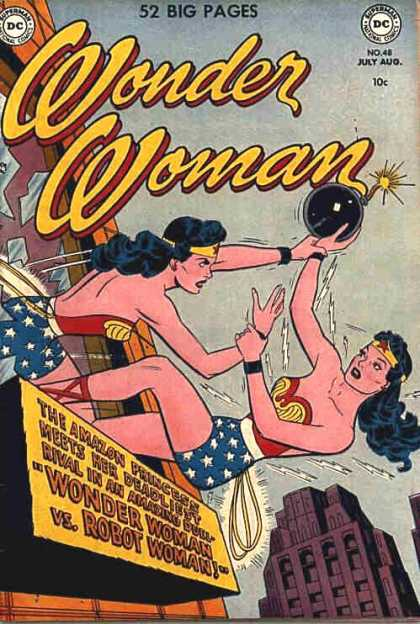 Duplication (other)-Wonder Woman V1 #48