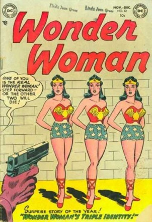 Duplication (other)-Wonder Woman V1 #62