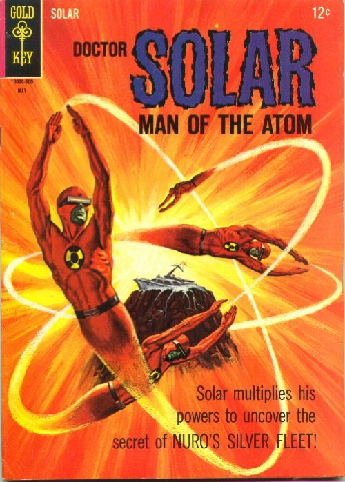 Duplication (self)-Doctor Solar, Man of the Atom #12 (Gold Key)