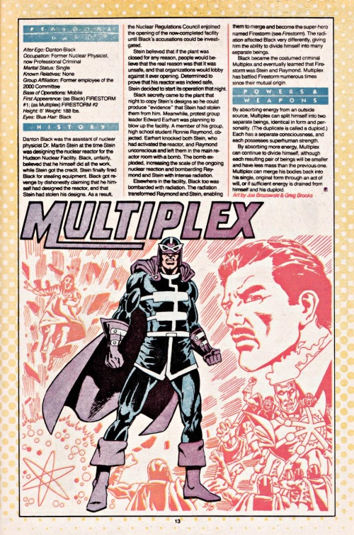 Duplication (self)-Multiplex-DC Who's Who #16