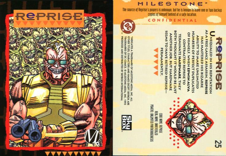 Duplication (self)-Reprise-Milestone Media Universe Card Set