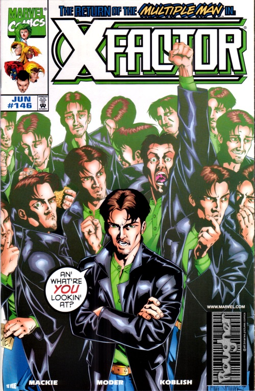 Duplication (self)–Jamie Madrox-X-Factor V1 #146