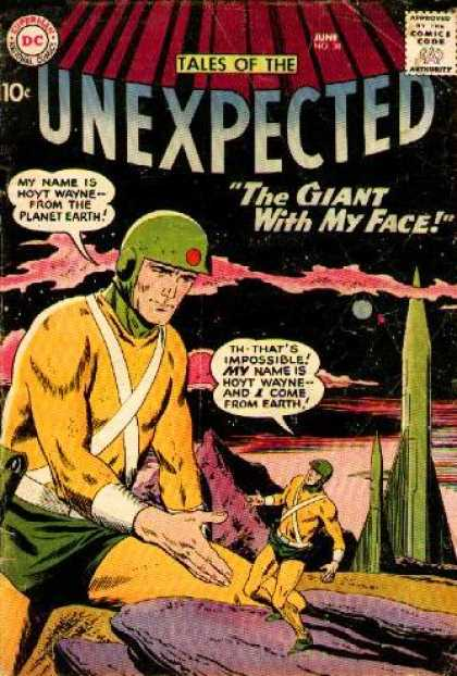 Duplication (size)-Giant-Tales of the Unexpected V1 #38-1