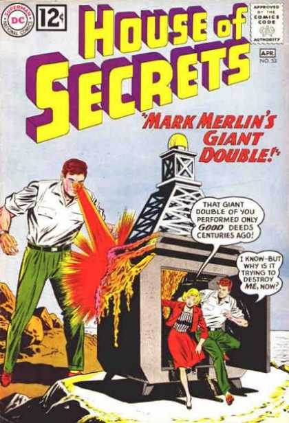 Duplication (size)-Mark Merlin-House of Secrets V1 #53-1