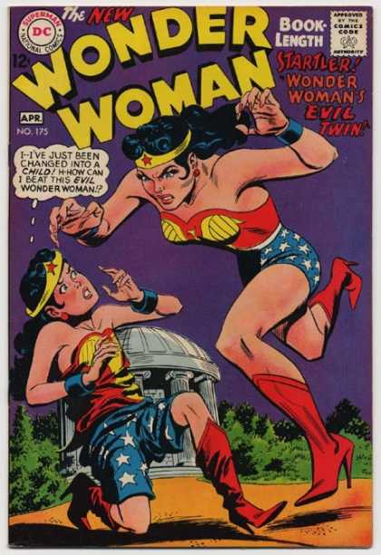 Duplication (size)-Wonder Woman V1 #175