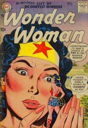 Duplication (size)-Wonder Woman V1 #90