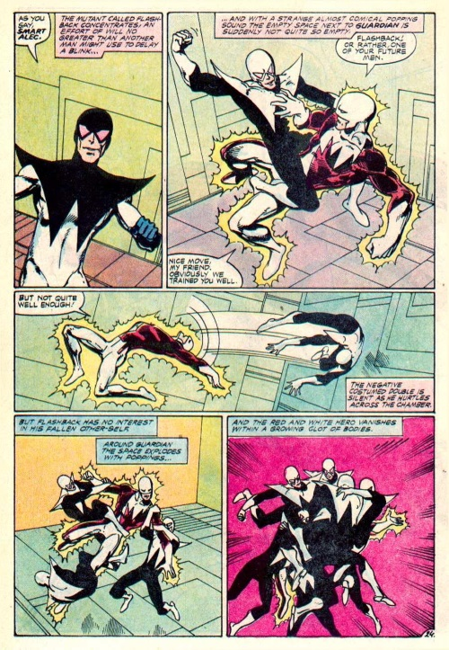 Duplication (temporal)-Flashback - Alpha Flight V1 #12