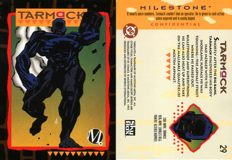 Earth Mimicry-Tarmack-Milestone Media Universe Card Set