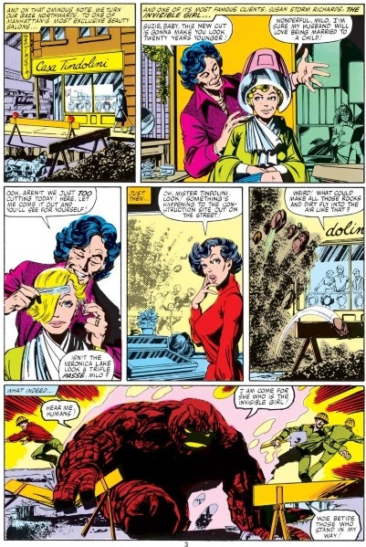 Earth Mimicry–Earth-Fantastic Four V1 #232