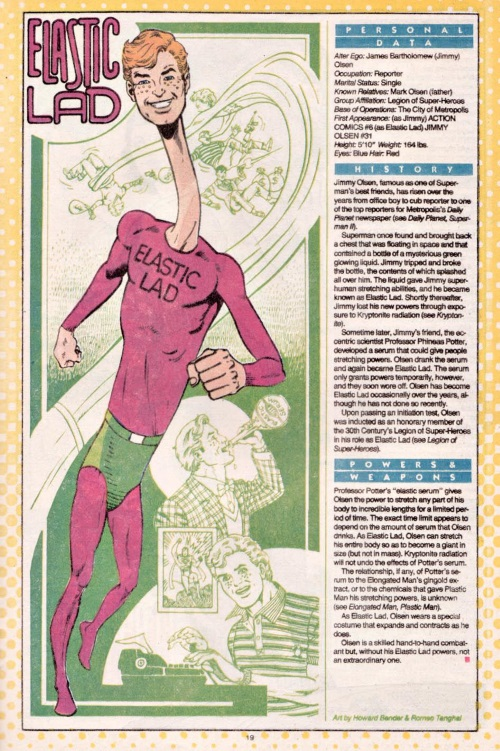 Elasticity-Elastic Lad-DC Who's Who V1 #7