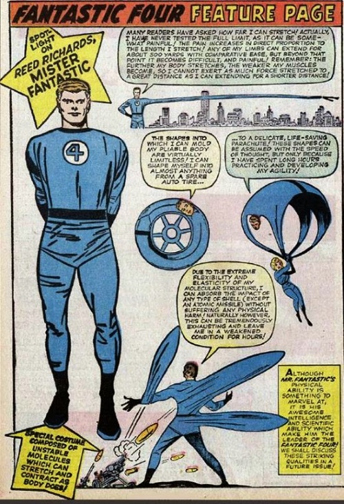 Elasticity–Mr. Fantastic (Marvel)