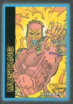 Electric Manipulation-1993 SkyBox Ultraverse-20Fr Mustang