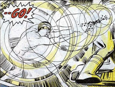 Energy Blasts-Havok Uncanny X Men-58 (Marvel)