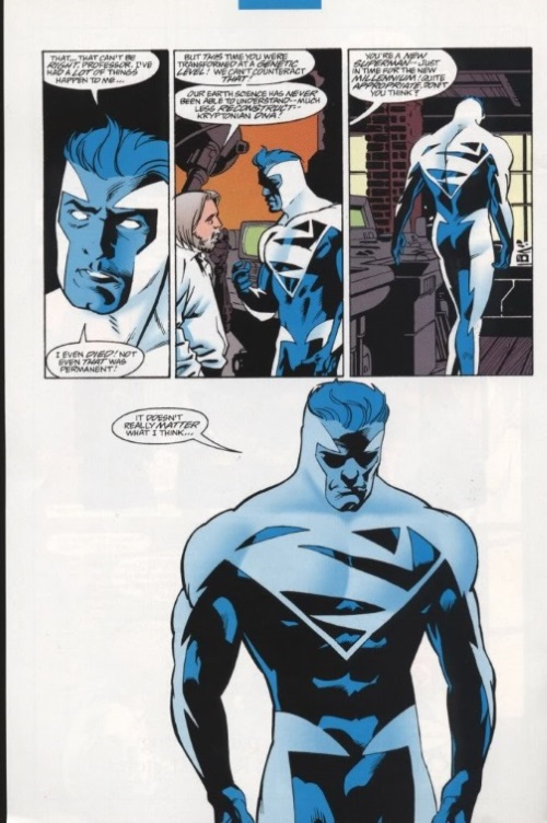 Energy Mimicry–Superman Blue
