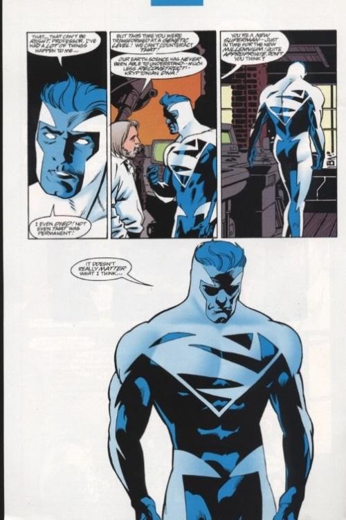 Energy Mimicry–Superman Blue
