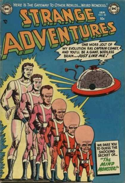 Evolution Manipulation (others)-Captain Comet-Strange Adventures V1 #40