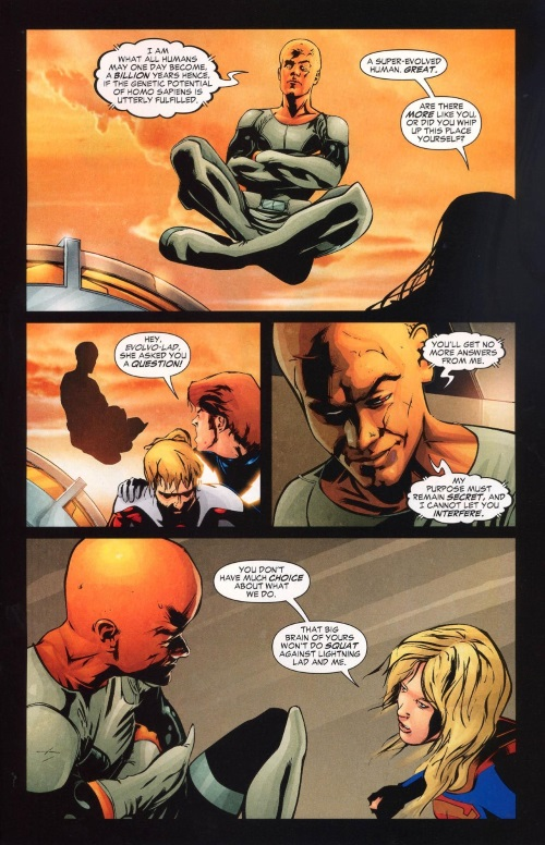Evolution Manipulation (self)–Evolvo Lad-Supergirl and the Legion of Super-Heroes #35 (2007)