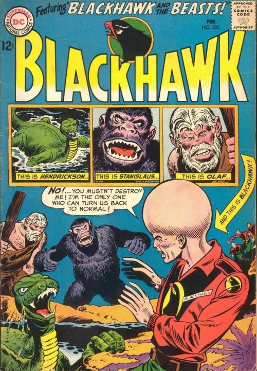 Evolution Manipulation (self)–Giant Head-Blackhawk V1 #205