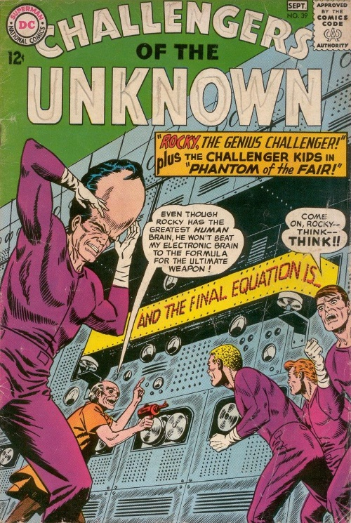 Evolution Manipulation (self)–Giant Head-Challengers of the Unknown V1 #39