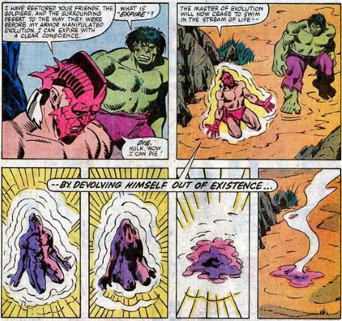 Evolution manipulation (self)–High Evolutionary (Marvel)