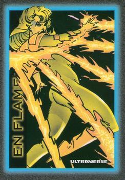 Fire Manipulation-1993 SkyBox Ultraverse-5Fr En Flame