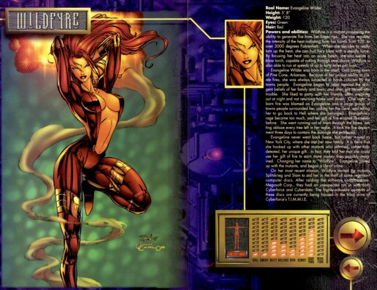fire-manipulation-wildfyre-cyberforce-sourcebook-2