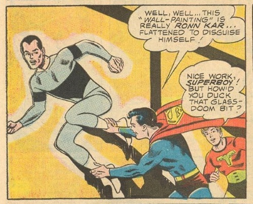 Flat Body (self)-Ronn Kar-Legion of Super-Heroes V1 #372 (1968)