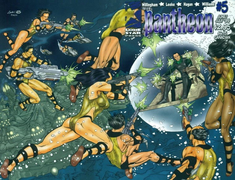 Force Field Generation-Daedalus-Pantheon #5 (Lone Star Press)