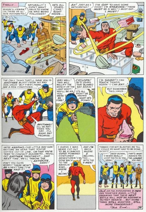 Force field generation-Unus the Untouchable-Uncanny X-Men V1 #8