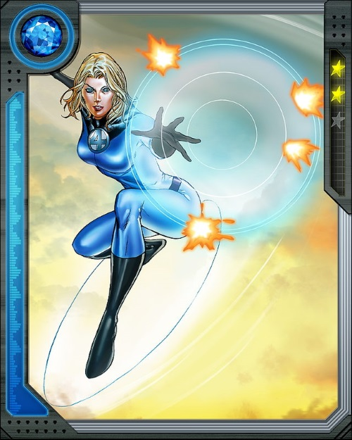 Force Field Generation–Invisible Woman