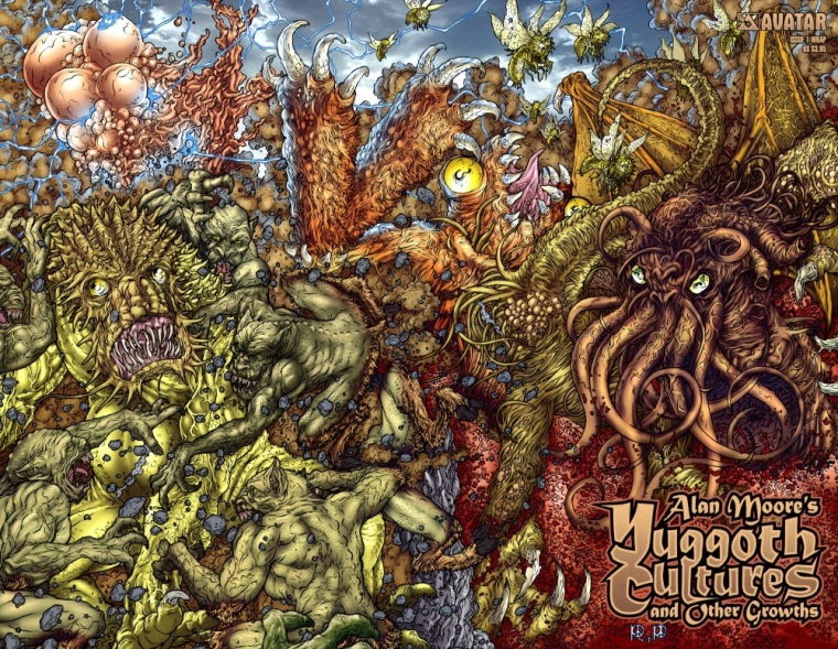 Fungi Mimicry–Alan Moore's Yuggoth Cultures and Other Growths #1